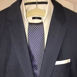 Men's Hugo Boss fitted suit